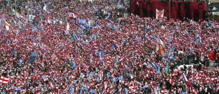 Article : Pourquoi je disais toujours oui : à l'appel du 14 mars, au Liban; à la vie, dans mon pays